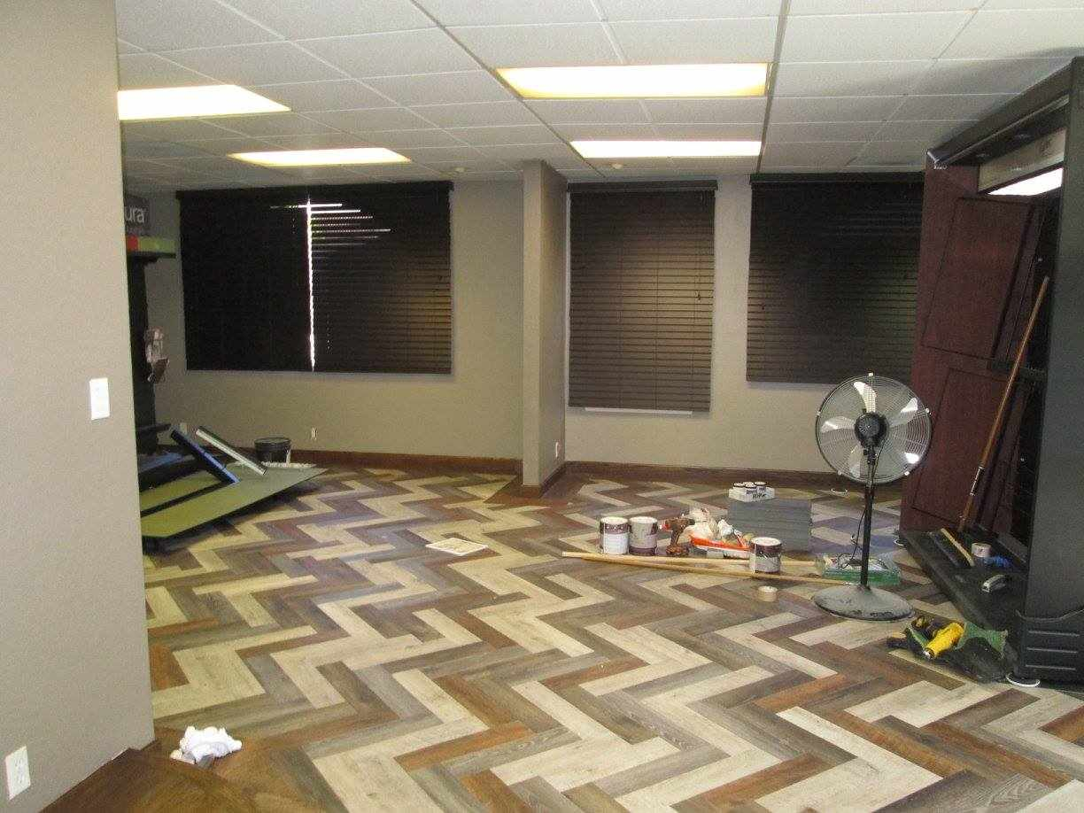 remodeling flooring showroom