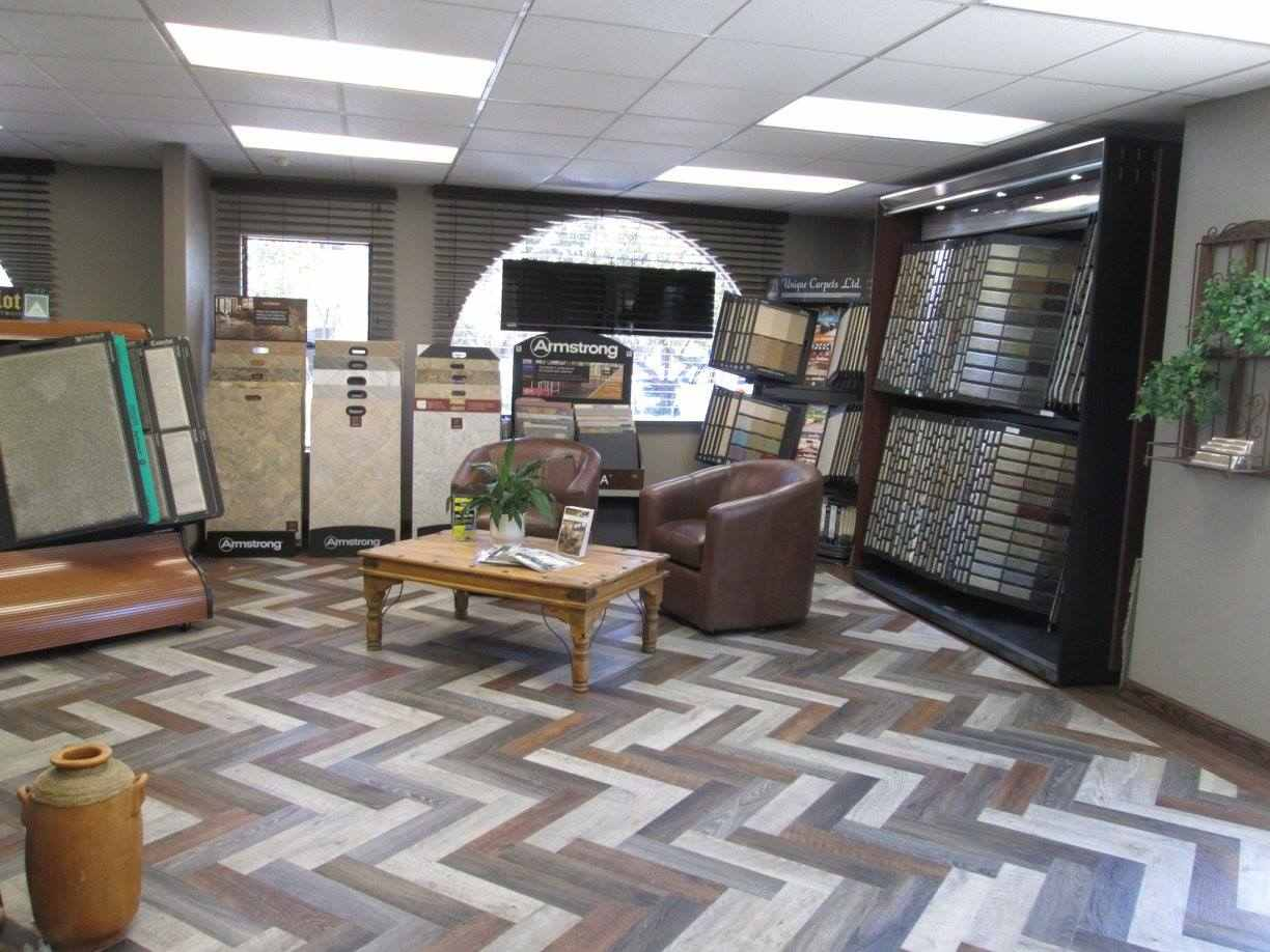 remodeled flooring showroom