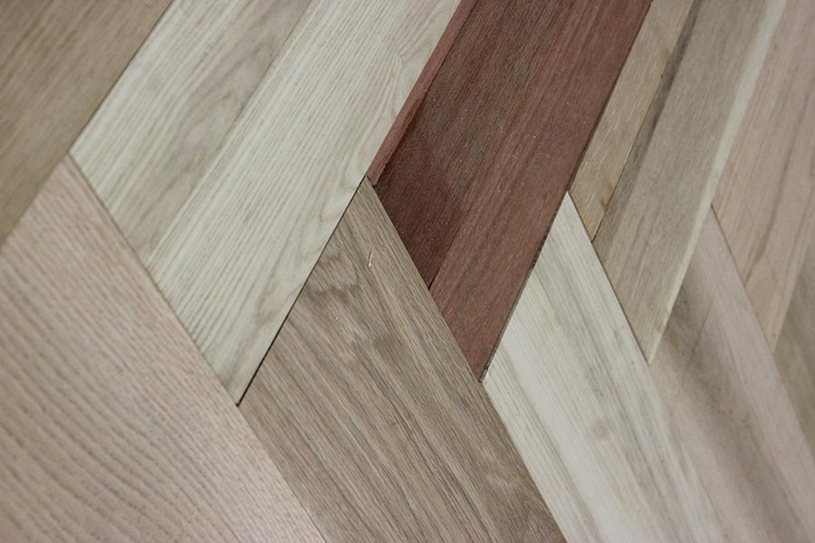 A close up of the herringbone pattern | Slaughterbeck floors