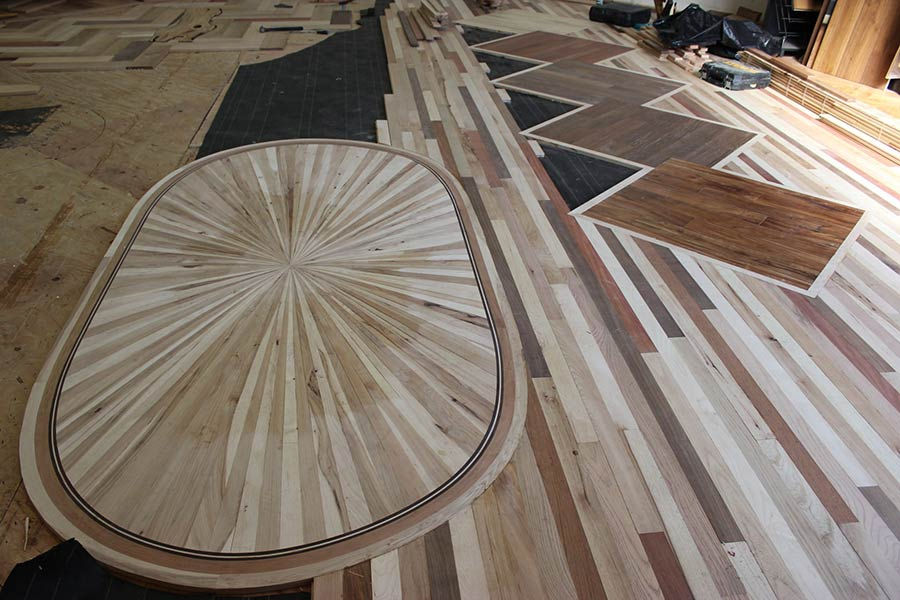 Preparing the floors for sanding | Slaughterbeck Floors