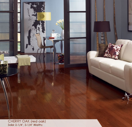 High Gloss Collection – Cherry Oak by Somerset Hardwood Flooring