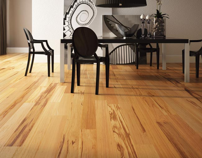 Brazilian Tigerwood Engineered Exotic Hardwood Floors by Triangulo