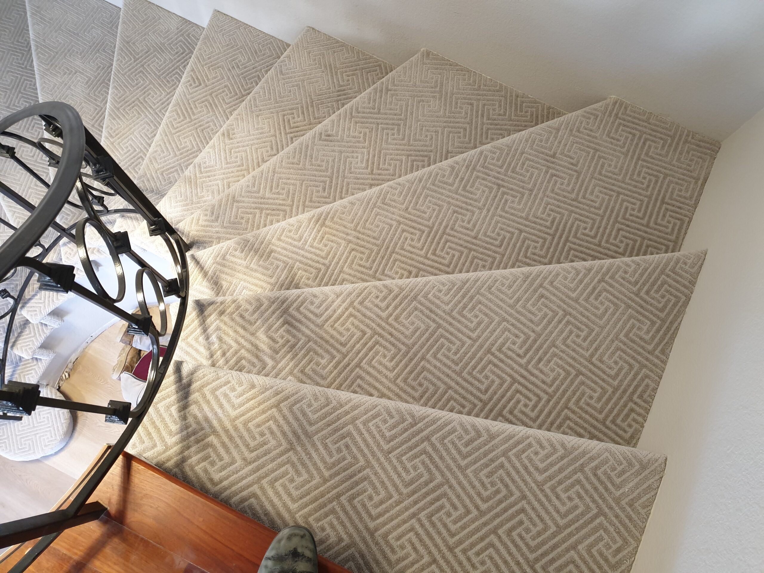 Mountain View Carpet Flooring on Stairs