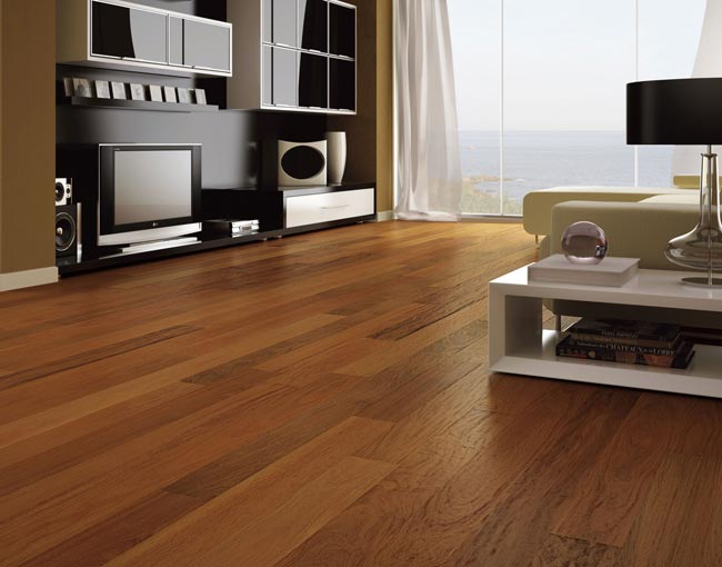 Brazilian Walnut Engineered Exotic Hardwood Floors By Triangulo