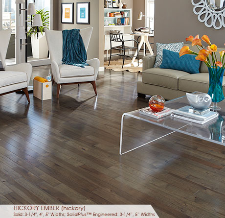 Character Collection – Hickory Ember by Somerset Hardwood Flooring