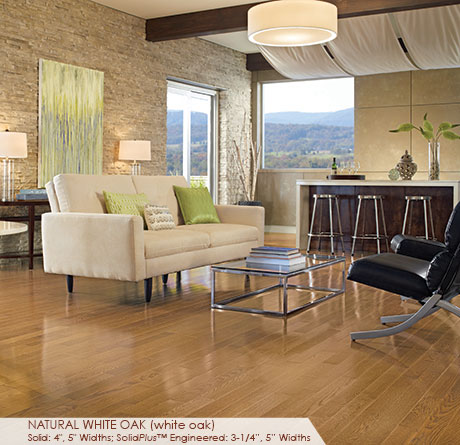 Color Plank Collection – Natural White Oak by Somerset Hardwood Flooring