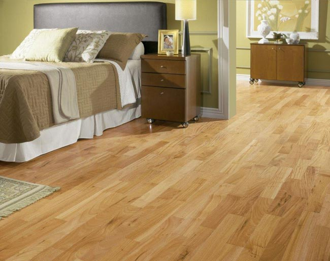 Amendoim Engineered Exotic Hardwood Floors by Triangulo