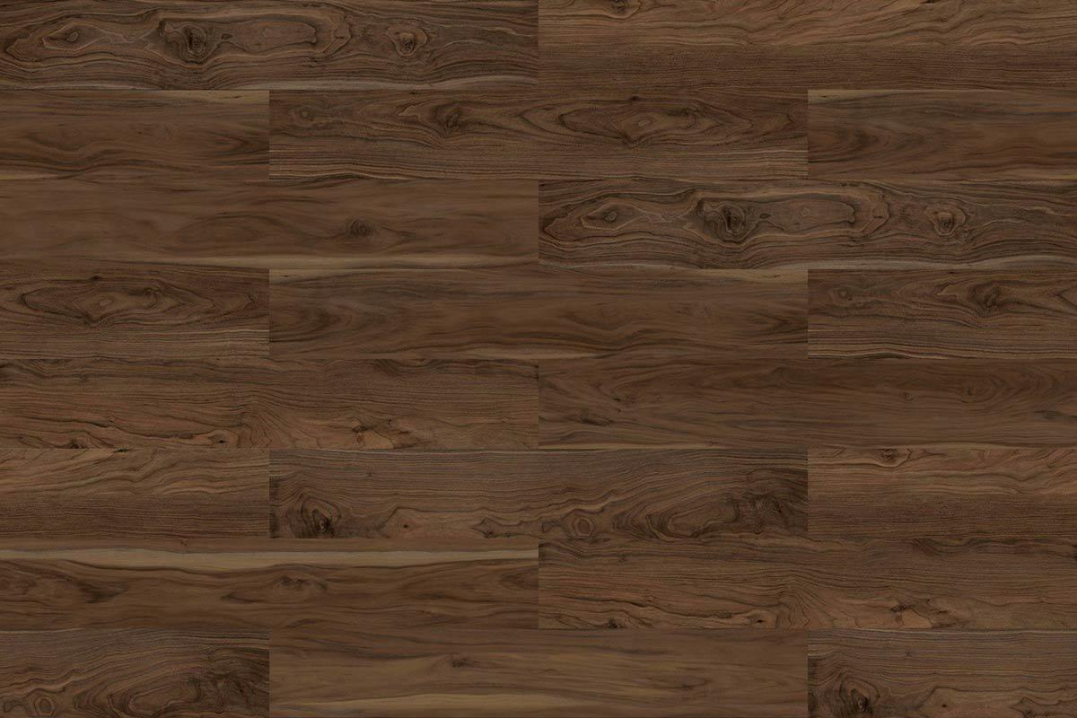 American Walnut Swatch SPC Floor