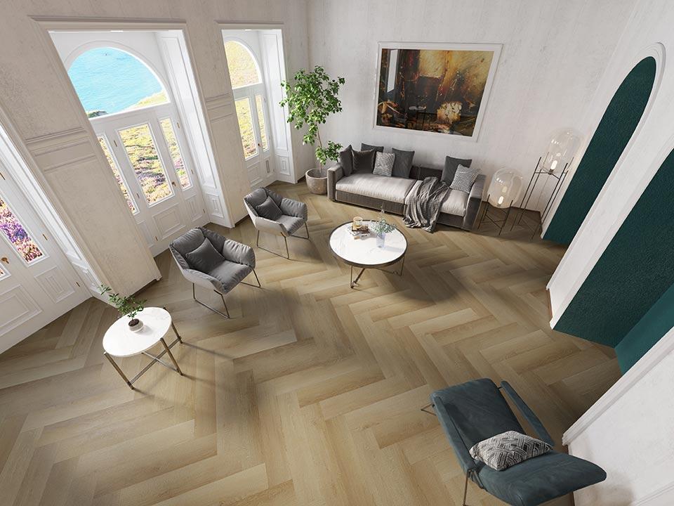 GA5310AB Bella Sala Herringbone-1 SPC Floor