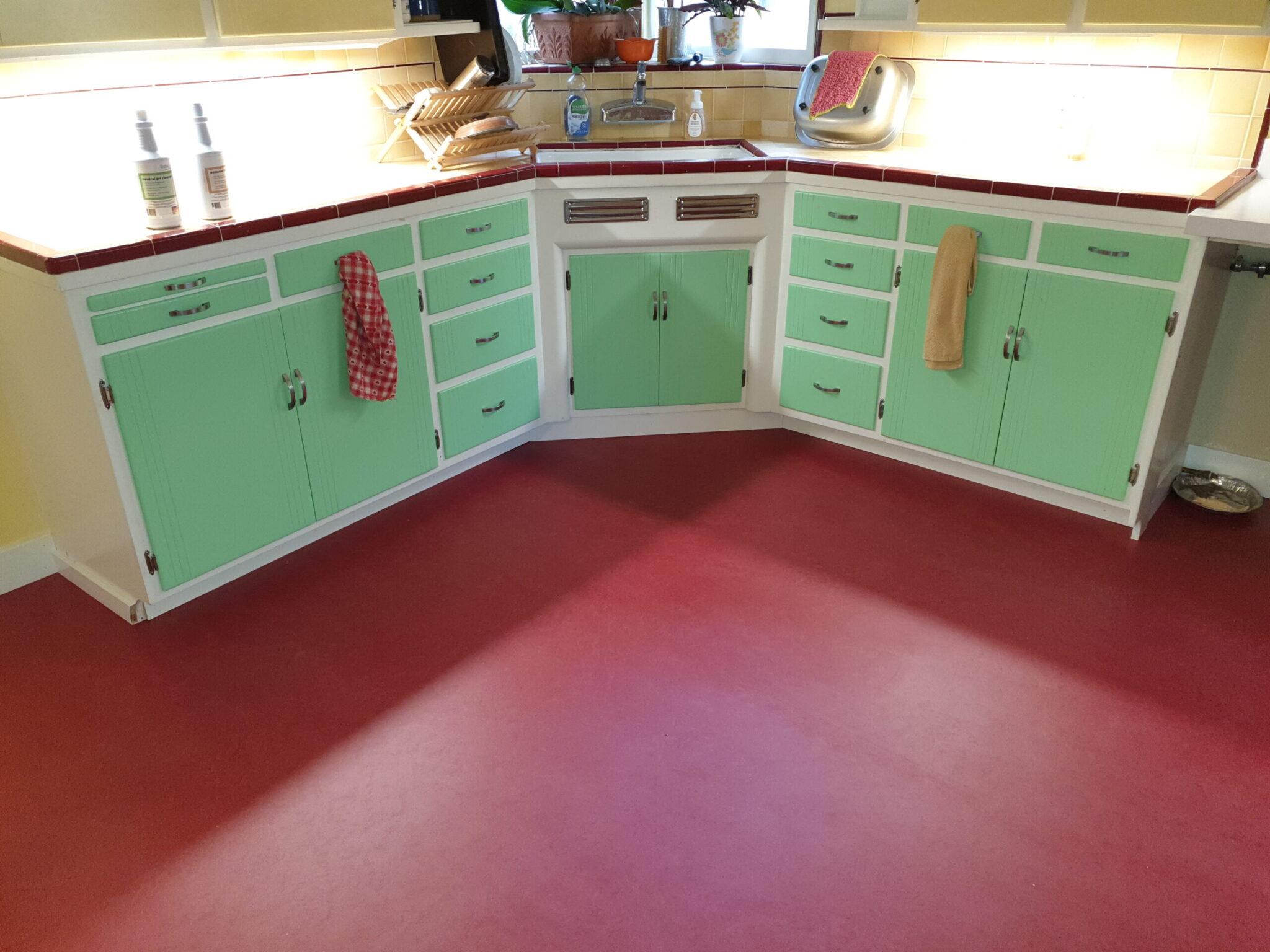 Marmoleum Linoleum Floor Burbank Area San Jose