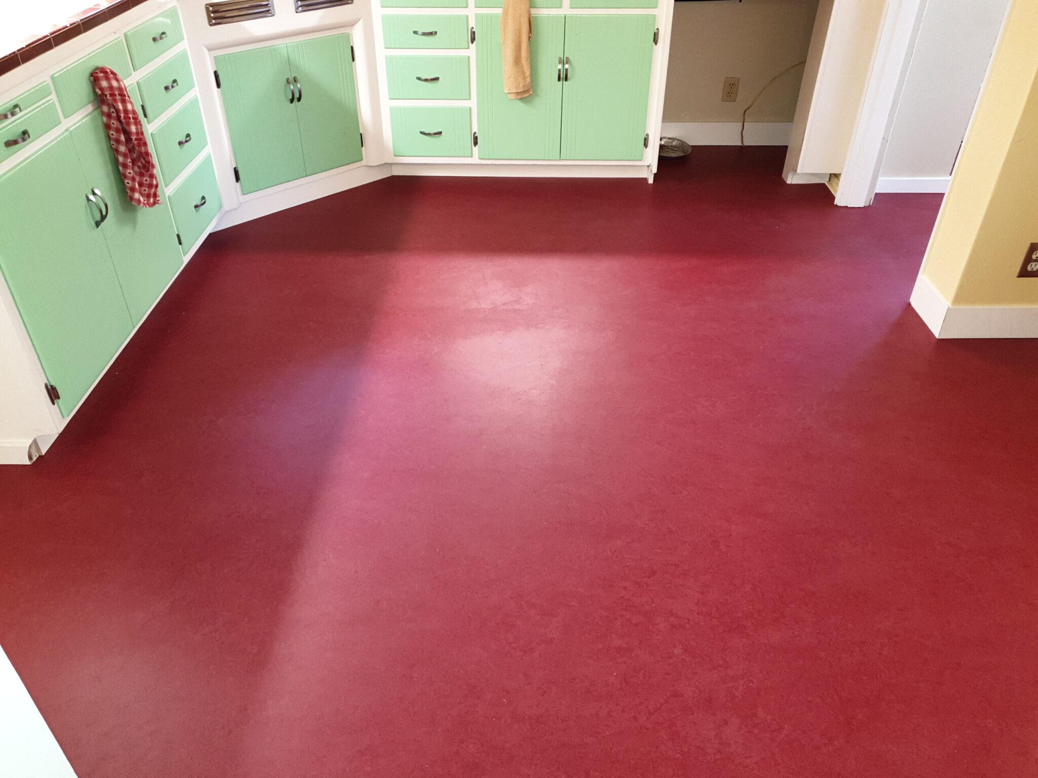 Marmoleum Linoleum Floor Burbank Area San Jose Floor View