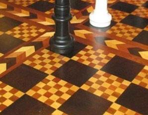 Chessboard Floor
