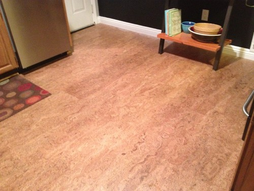 kitchen cork floors san jose