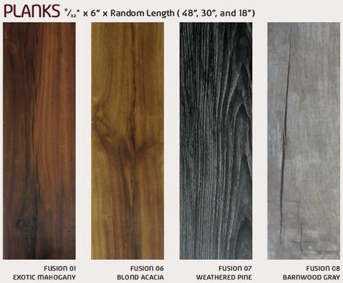 fusion hybrid planks