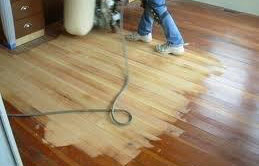 cleaning and refinishing
