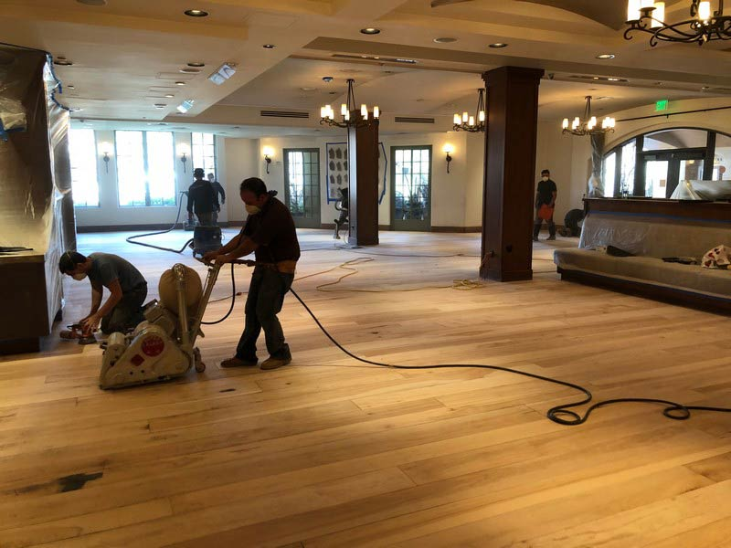 Hardwood Floor Sanding