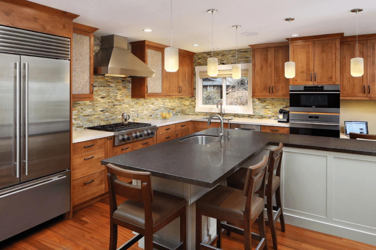 Hardwood Floors Installed in Kitchen