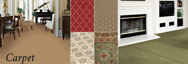 Slaughterbeck Floors, Inc. : Carpeting Showroom : Campbell