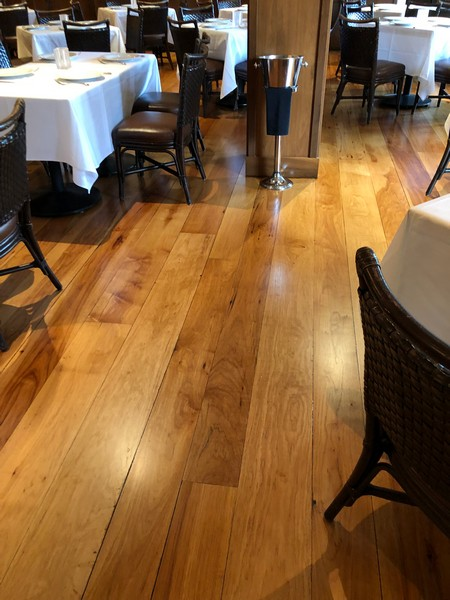 AFTER - Hickory Hardwood Floors Refinished