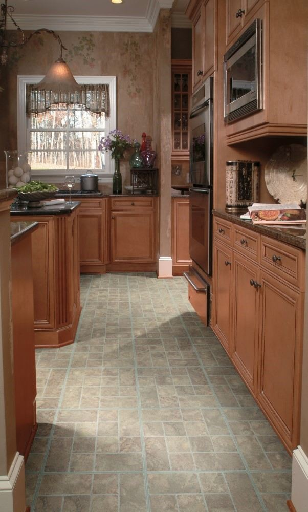 Luxury Vinyl Tile – Mojave Slate by EarthWerks
