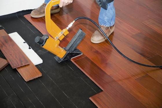 Floating floor vs nail down slaughterbeck floors inc for Down floor