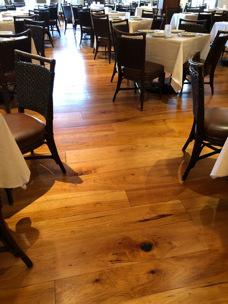 Refinished hardwood floors San Jose