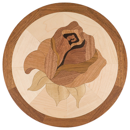 Rose hardwood inlay