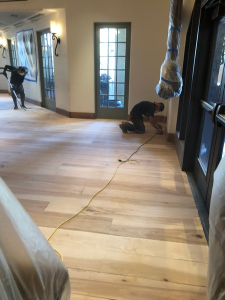 Sand finish hardwood floors los gatos