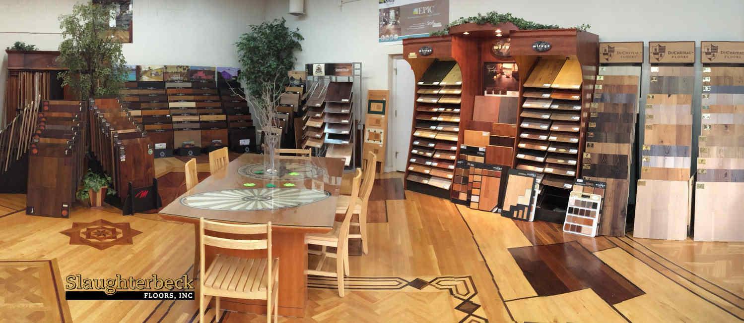 Slaughterbeck Floors Campbell Flooring Showroom