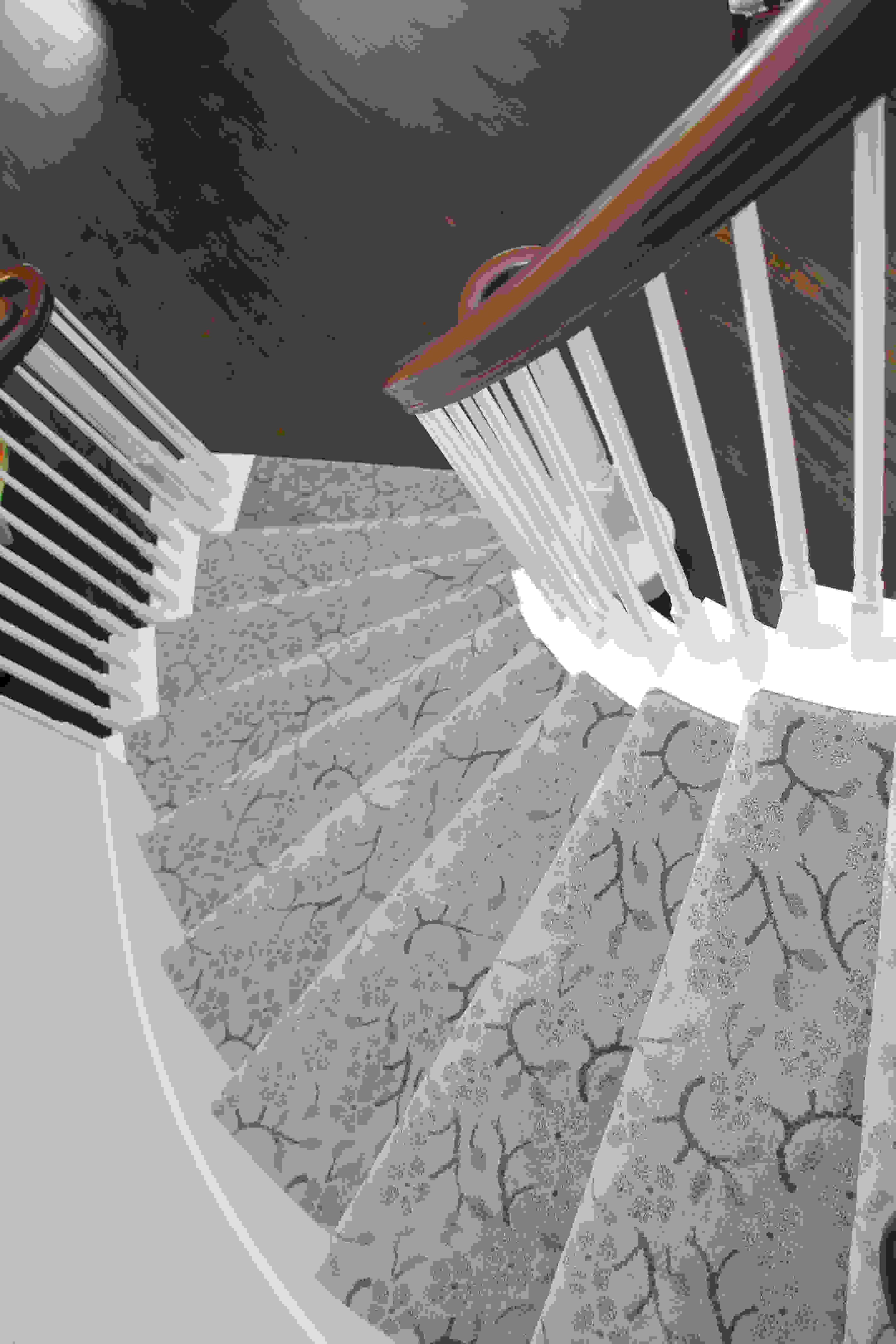 Staircase carpeting