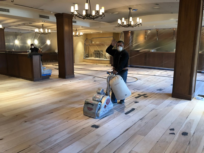Wood floor sanding san jose los gatos